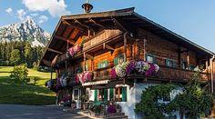 Wilder Kaiser, Tirol Austria, Bavaria, Big Ben, My Dream, Winter, Places To Visit, Europe, Houses