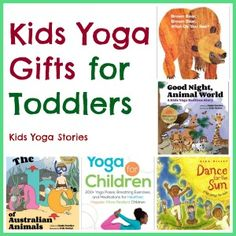10 Kids Yoga Gifts for Toddlers: perfect for getting active this holiday season | Kids Yoga Stories