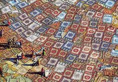 Drying Rugs - by the great photographer Yann Arthus Bertrand