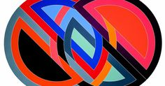 2 mins, Frank Stella and the art of the protractor Classroom Art Projects, Art Classroom, Frank Stella Art, Abstract Expressionism, Abstract Art, Post Painterly Abstraction, Field Paint, York Art Gallery, San Francisco Museums