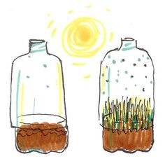 Maak van een petfles een kasje  dat werkt op zonne-energie !  http://www.geloventhuis.nl/2015/in-je-element/knutselen-en-doen/fles-kasje.html