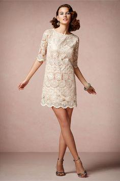 Agata Swing Dress from BHLDN