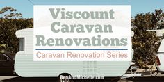 Viscount caravans bring back childhood memories for so many Australians, and these Viscount caravan renovations bring them all back to life. Caravan Renovation Diy, Diy Caravan, Caravan Decor, Caravan Makeover, Caravan Ideas, Vintage Caravan Interiors, Vintage Caravans, Vintage Airstream, Vintage Campers