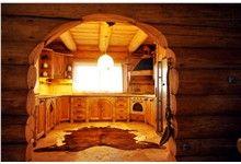 Klenovice na Hané 4 Log Home Kitchens, Log Homes, Timber Homes, Log Houses, Log Cabin Homes, Wood Houses, Wood Homes, Craftsman Bungalows