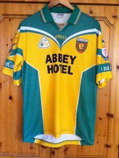 4ec250752 Donegal Gaelic Football Home Jersey 2001 to 2002 Medium Adult GAA Irish  Ireland Donegal