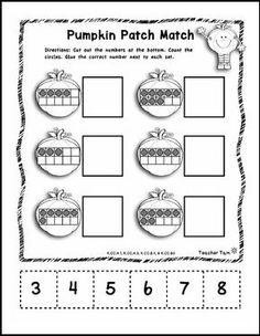 "FREE MATH LESSON - ""Fall"" - Go to The Best of Teacher Entrepreneurs for this and hundreds of free lessons. Pre-Kindergarten - Kindergarten  #FreeLesson   #Math  #Halloween  http://www.thebestofteacherentrepreneurs.net/2015/10/free-math-lesson-fall.html"