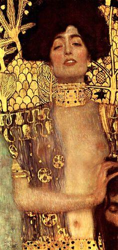 Judith and Holofernes, Klimt