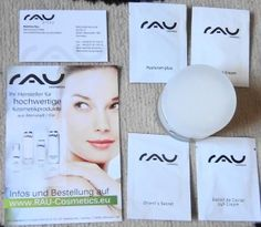 I get a big package form Rau Cosmetics.