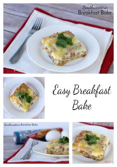 Fill up the family with something delicious and satisfying like this Southwestern Breakfast Bake. #WarmTraditions AD