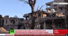 Ομαδικές πυρπολήσεις και αποκεφαλισμοί Κούρδων αμάχων από τις δυνάμεις του Ερντογάν-'Burned to death, beheaded': Cizre Kurds accuse Erdogan's forces of civilian massacre (RT EXCLUSIVE)