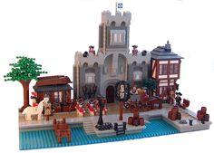 Pirate Lego, Pirate Theme, Lego Bridge, Lego Kingdoms, Ship Mast, Lego Indiana Jones, Cool Lego, Awesome Lego, Lego Building Blocks