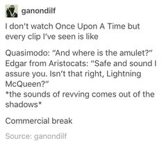 As someone who DOES watch OOAT, I can confirm this is essentially what happens every episode