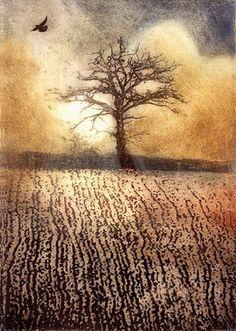 Ian MacCulloch - Morning Mist etching 14 cm x 19 cm £95