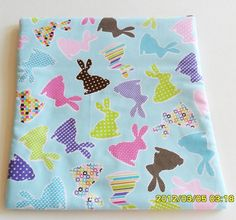 Microwave Baked Potato Bag  Pastel Rabbits by SusiesUniqueChic, $6.00