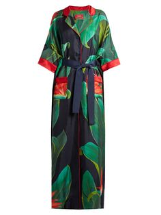 Eurinome tropical floral-print silk shirtdress | F.R.S – For Restless Sleepers | MATCHESFASHION.COM