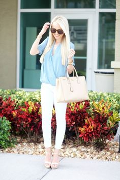 A Spoonful of Style: Baby Blue and White...