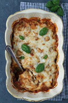 Quinoa Linsen Lasagne