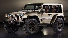 Next-generation Jeep Wrangler concept.