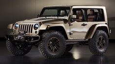 Next-generation Jeep Wrangler concept.