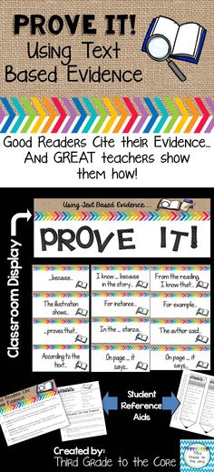 It's true, our kids can write great text based responses! And this set is the perfect tool to help them do that!