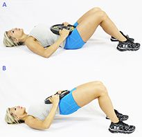 Squats, deadlifts, and lunges are all great moves that tighten and strengthen your lower body. Another must-do move that isn't often utilized is the hip thruster. The hip thruster is one of the best e
