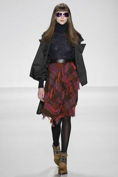 Custo Barcelona. Autumn Winter 2014/15 NYFW