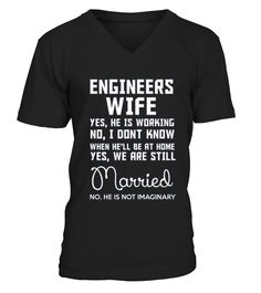 Engineers wife yes, he is working