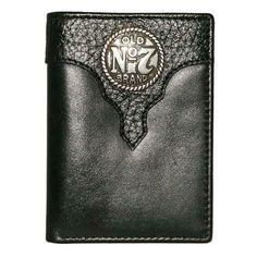 Old #7 Black Jack Daniels Trifold Wallet