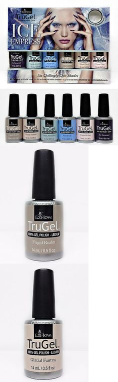 Other Nail Care: Ezflow Trugel -Ice Empress 2016 Collection - All 6 Colors 45265-45270 With Bonus -> BUY IT NOW ONLY: $43 on eBay!