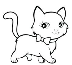 coloring pages of cats printable cat printable coloring pages kitten cute cat coloring pages free coloring book Cat Coloring Page, Animal Coloring Pages, Colouring Pages, Printable Coloring Pages, Coloring Pages For Kids, Coloring Sheets, Coloring Books, Free Coloring, Cat Drawing For Kid