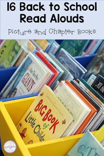 Finding the perfect story to read aloud to your students at the beginning of the school year can be difficult. This blog post shares 16 books (both picture and chapter) to encourage students to become interested in reading. The recommendations also help teachers use trade literature to teach comprehension skills like sequencing and problem/solution as well as social/emotional skills. #confessionsofafrazzledteacher #teachers #backtoschool {Kindergarten, First, Second, and Third Graders} All About Me Activities, Back To School Activities, Reading Activities, Teaching Reading, Teaching Ideas, School Ideas, Beginning Of The School Year, New School Year, Books About Bullying