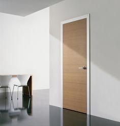 Minimalist also Contemporary Door Model: Aura : Light Universal Aura Minimalist Door Cedar Wooden Floor White Wall Black Painting Wooden End Table Glass Window Fur Clothe 2
