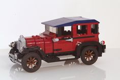 Ford Model A Town Sedan 1927 made with legos