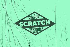8 Free Scratch Vector Textures | File Format: .AI, .EPS, .PNG (31.5 MB) | graphicsfuel.com
