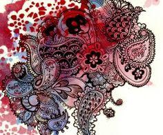 paisley tattoo art - Google Search