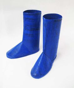 Boots by 'Waste for Life' are Made From Recycled Plastic Bags trendhunter.com
