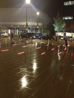 Wimbledon paving lights
