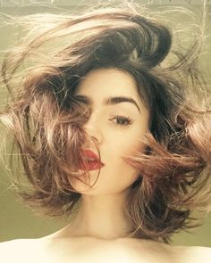 """"""" lilyjcollins :The after work tangle and tossle… """""""