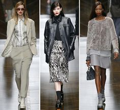 TRUSSARDI_FW14  That's my winter wardrobe sorted.  Imagine having everyone of these items in your wardrobe. Wish.