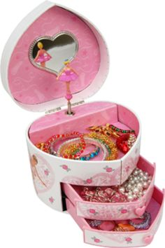 Gunther Mele - Dora - Musical Heart Shape Jewellery Box with Ballerina Design Jewelry Tree, Jewelry Box, Jewelry Rings, Silver Jewelry, Silver Rings, Personalized Jewelry, Handmade Jewelry, Jewely Organizer, Mens Sterling Silver Necklace