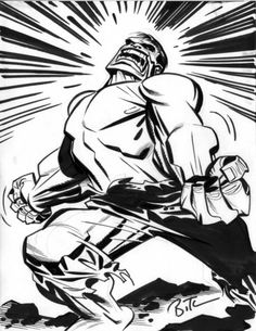 Hulk by Bruce Timm Comic Book Pages, Comic Book Artists, Comic Artist, Comic Books Art, Bruce Timm, Hulk Comic, Hulk Marvel, Hulk Art, Dc Comics