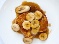 I made Bananas Foster French Toast for breakfast this AM. So fricken good!