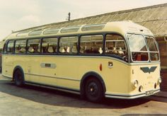 New in 1957 as fleet number This coach bodied version of the LS contained a front entrance door which opened out and caused many a driver an embarassment. Bus Coach, London Transport, Busses, Nottingham, Old Trucks, Coaches, Bristol, Derby, Transportation