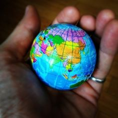 tiny globe (decoration) by StarMeKitten
