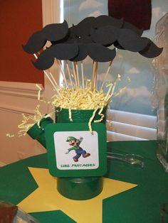 "Photo 4 of 26: Super Mario Brothers / Birthday ""Ashton's SUPER 5th Birthday""   Catch My Party"