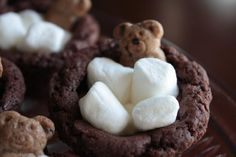 Kids will love these. Bears in a Bubble Bath Mini Treats. Photo by Jesse and Eliza's Mom