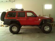 Jeep cherokee xj I like the liner on rear fender