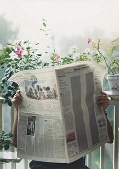 Morning paper // Once upon a Sunday...