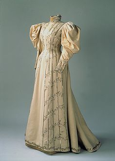 Visiting Dress of the Empress Alexandra Fedorovna 1890s