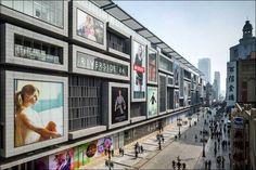 Центр розничной торговли Riverside 66 в Тяньцзине, Китай